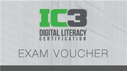 Bundle of 3 nos. IC3 Exam voucher