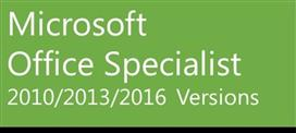 Microsoft Office Specialist Certification Exam Voucher